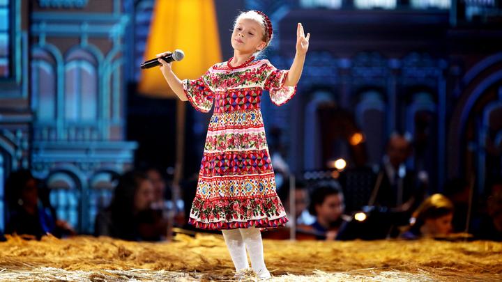 Синяя птица. Екатерина Прокофьева. Русская народная песня «Барыня»
