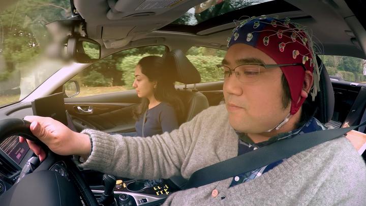"""Автомобиль будущего поедет, """"читая мысли"""" водителя"""