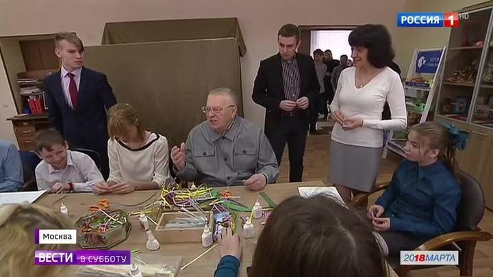 Жириновский занялся квиллингом, а Титов вернул олигарха из Лондона