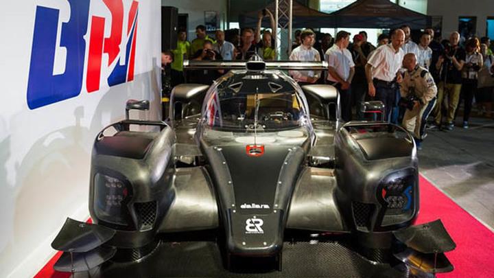 Российский прототип BR1 для топ-категории гонок на выносливость.