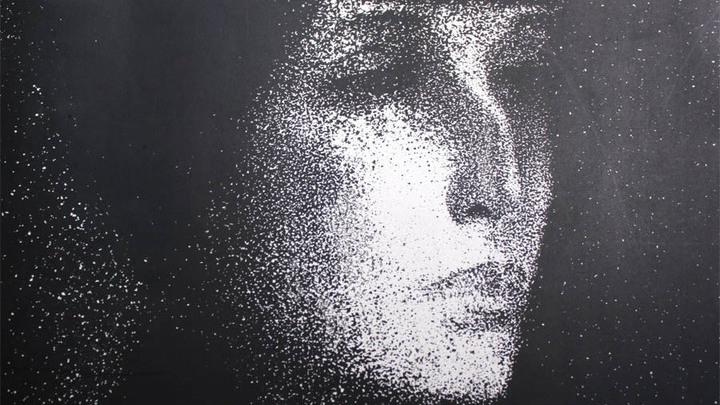 Анна Ахматова. Портрет из частной коллекции, 1987 год