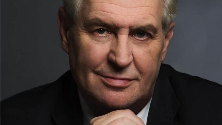 Милош Земан, президент Чешской Республики