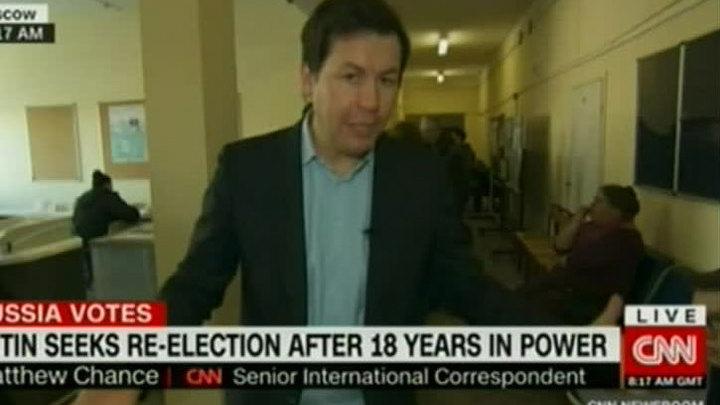 Корреспондент CNN подивился высокой явке на выборах президента РФ