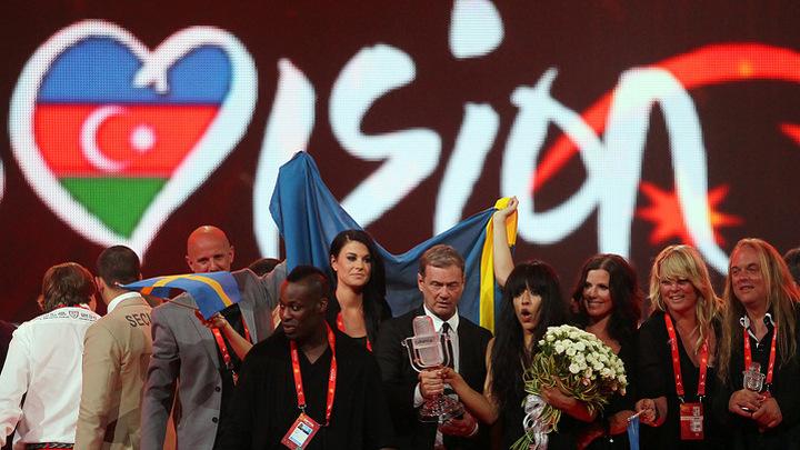 Евровидение-2012. Пресс-конференция победительницы конкурса Лорин (Швеция)/Eurovision 2012. Loreen (Sweden)