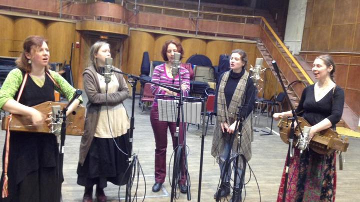 Ансамбль старинной музыки Узорика в студии ВГТРК