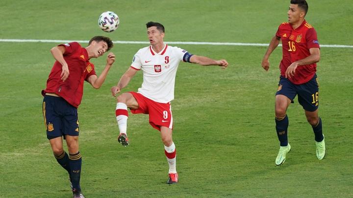 """Евро-2020. Испания – Польша – 1:1. Матч группы """"Е"""""""