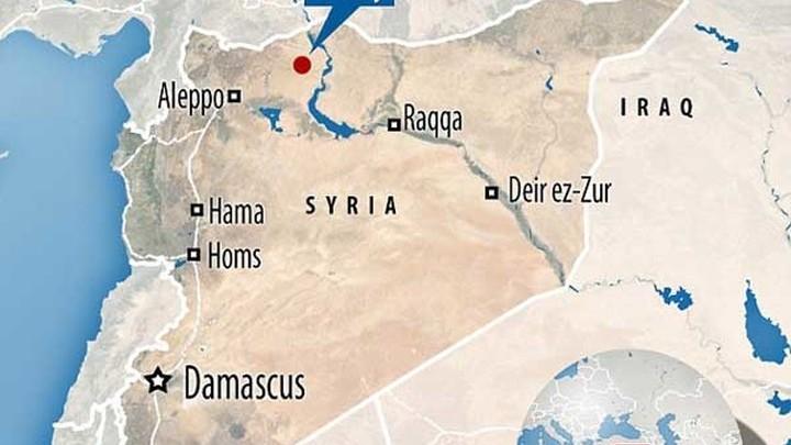 Город Манбидж на севере Сирии - зона интересов Турции.