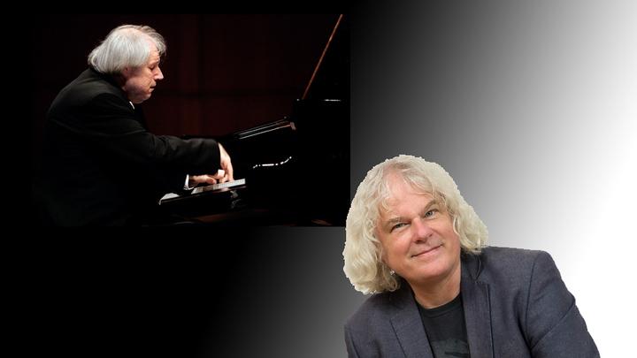 Григорий Соколов,  российский  музыкант  и  Рональд Браутигам,  нидерландский пианист и клавирист