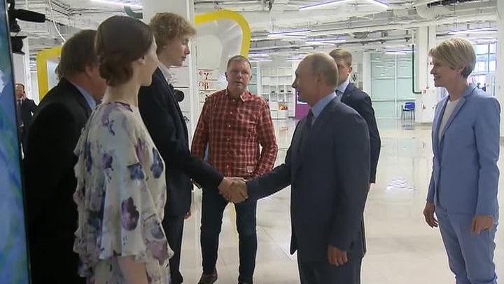 Президент встретился с пианистом Иваном Бессоновым