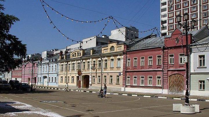 Улица Школьная, Рогожская слобода