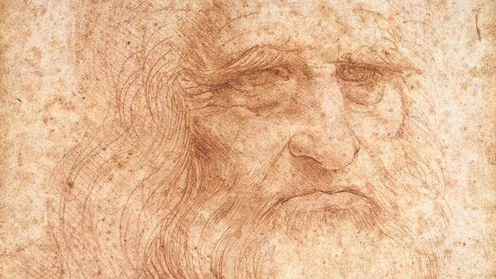 Один из предполагаемых автопортретов Леонардо да Винчи.