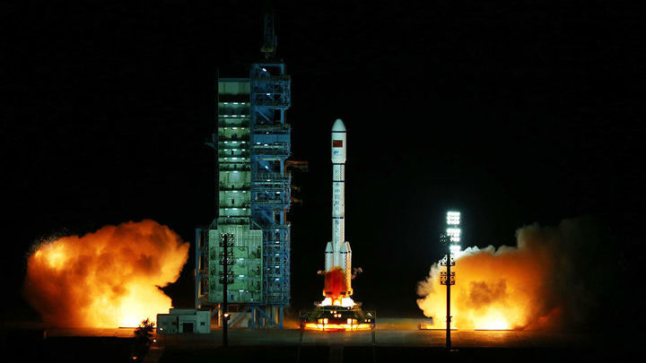 "Запуск ""Тяньгун-2""."