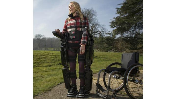 Пациенты, использующие стентрод, смогут ходить с помощью экзоскелетов