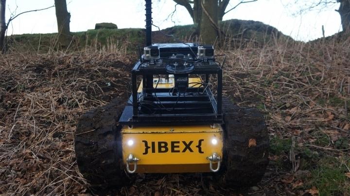 У робота есть датчики, которые позволяют ему распознавать на своём пути сорняки