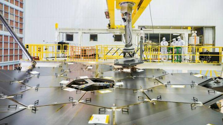 Космический телескоп Джеймса Уэбба должен быть запущен в 2018 году