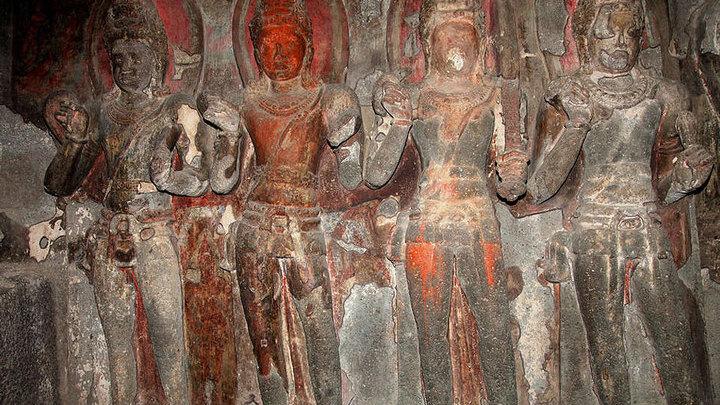 Фрагмент барельефа из храма ╧ 12. Фото: Gerard Decq / minube.com.br