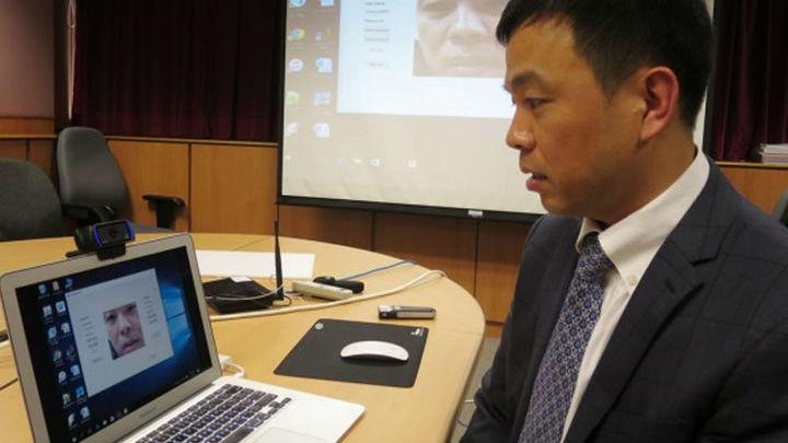 """Исследователь демонстрирует первую в мире технологию """"пароль по движению губ"""". Она может обеспечить дополнительный уровень безопасности при идентификации личности."""