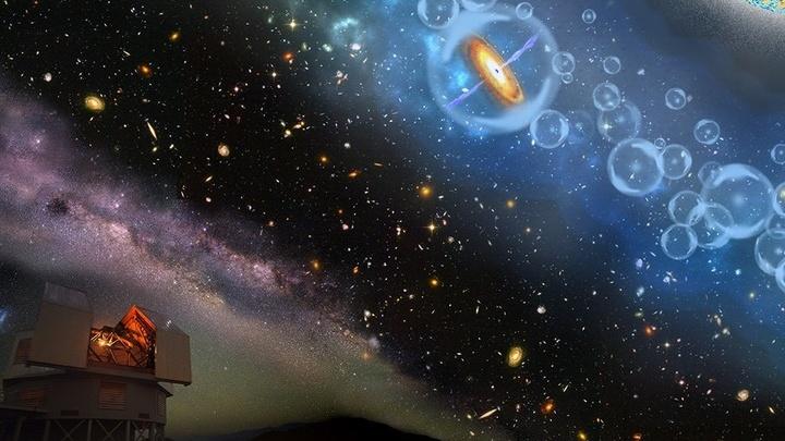 Объект J1342+0928 стал самым далёким из известных человечеству квазаров.