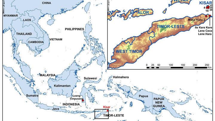 Всего на крошечном островке Кисар было обнаружено 28 участков с наскальными рисунками.