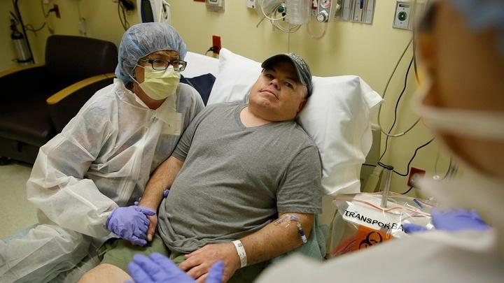 Бриан Мадё √ первый в мире мужчина, согласившийся пройти экспериментальную терапию.