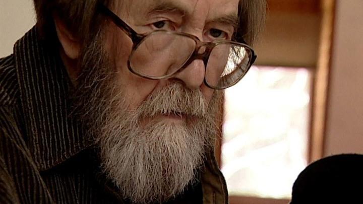 """Кадр из документального фильма """"Александр Солженицын. Раскаяние"""""""