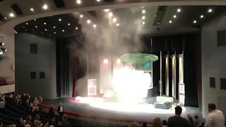 В Театре Сатиры произошло возгорание