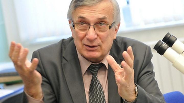 Член комитета РАН по метеоритам, профессор Уральского федерального университета Виктор Иосифович Гроховский.