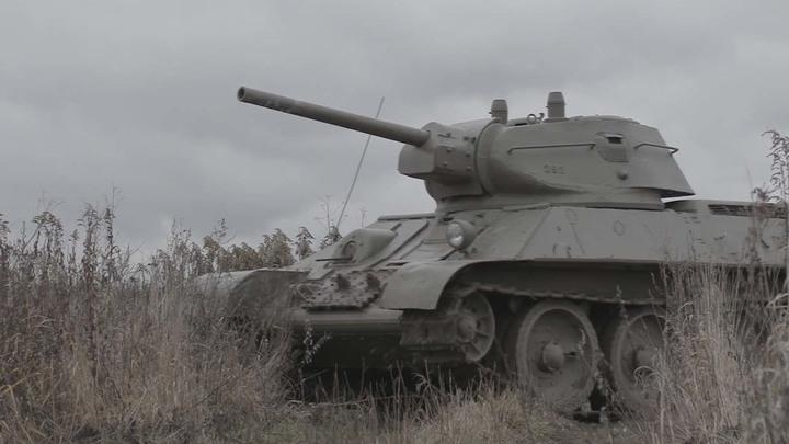 """Кадр из фильма """"Легенда о танке"""""""