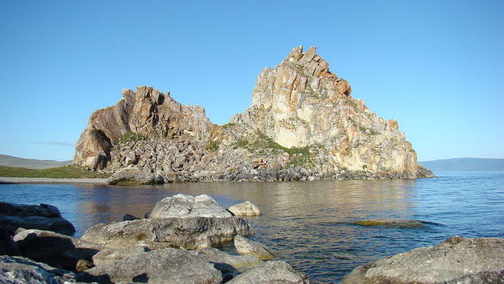 остров Ольхон на Байкале, Шаман-скала