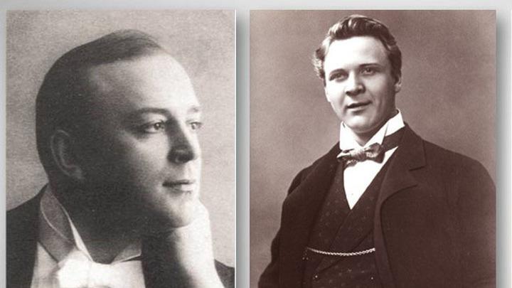 Федор Шаляпин и Леонид Собинов, легендарные певцы  /http://znakka4estva.ru//