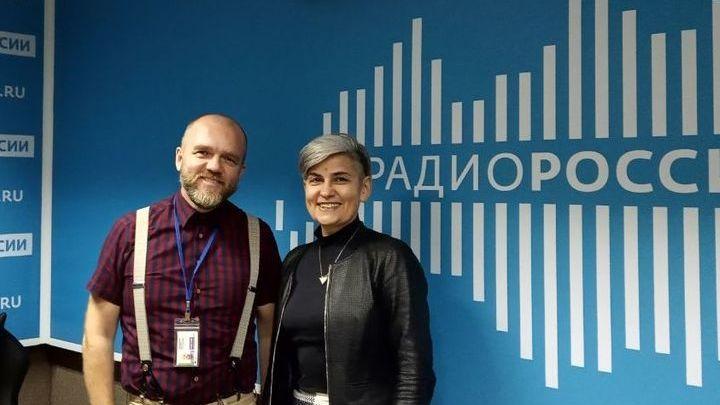 Дмитрий Конаныхин и Елена Супонина в студии