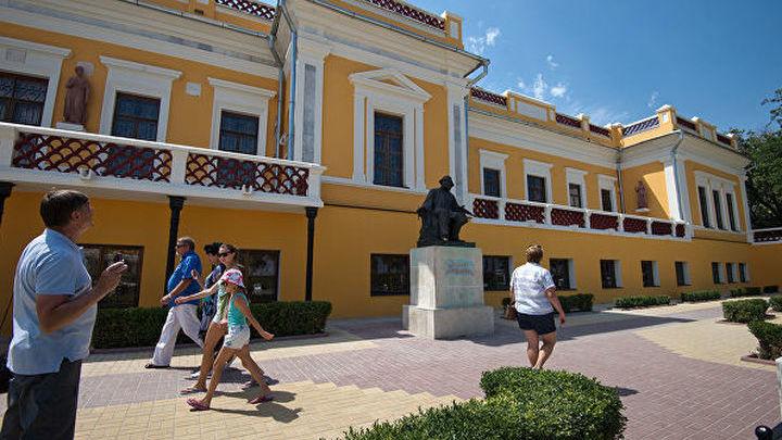 В Феодосии реконструируют галерею имени И. К. Айвазовского