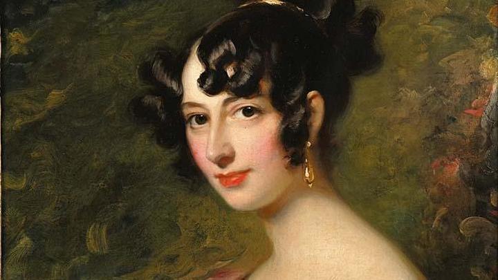 портрет Доротеи фон Ливен кисти неизвестного художника