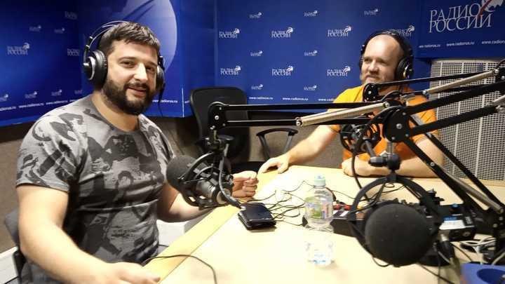 Игорь Димитриев и Дмитрий Конаныхин в студии