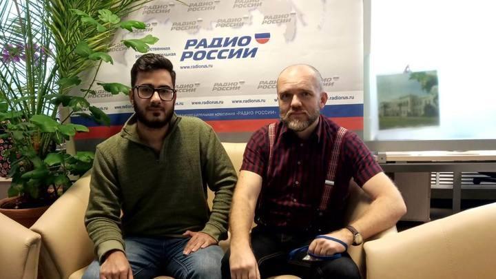Дмитрий Конаныхин и Аббас Джума