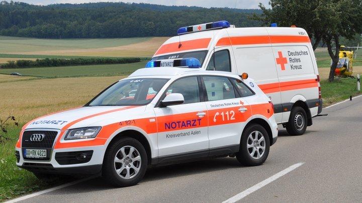 Туристический автобус попал в серьезную аварию на востоке Германии