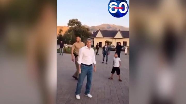 Экс-президент Киргизии сдался спецназу photo