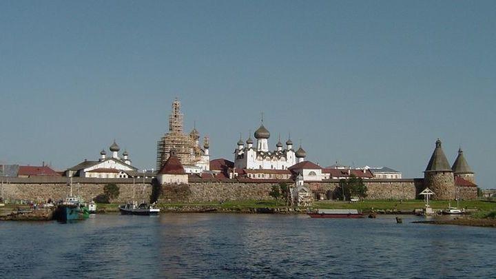 Продолжается реставрация Соловецкого монастыря
