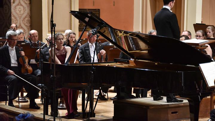 Илишка Традылшыкова, пианистка из Чехии. Фото Zdenek Chrapel.