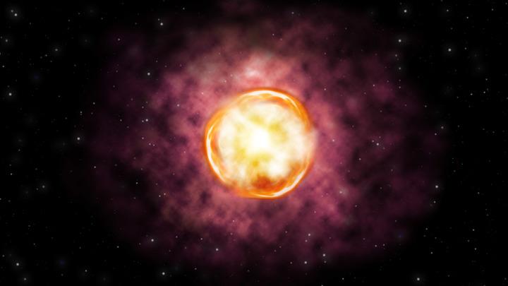 Взрыв SN 2016iet оказался уникальным во многих отношениях.