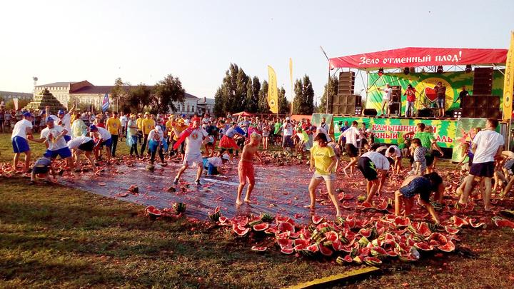 Камышинский арбузный фестиваль | фото Ивана Волонихина