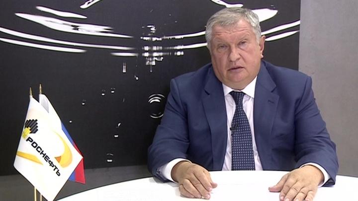 """Глава """"Роснефти"""" Игорь Сечин не исключил нового роста цен на нефть"""