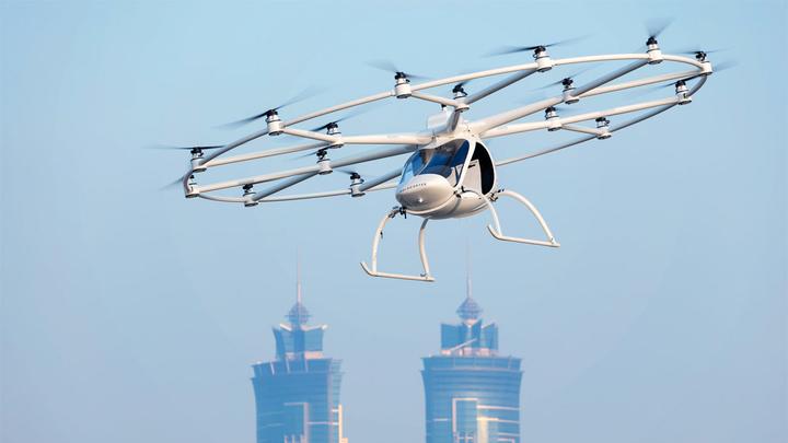 Автопроизводители дали Volocopter 50 млн евро на доработку беспилотных аэротакси