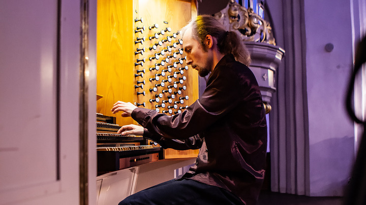 Иван Татаринов, выступление.  Фото Юлии Алексеевой