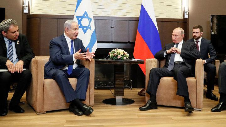 Владимир Путин и Биньямин Нетаньяху /vesti.ru/