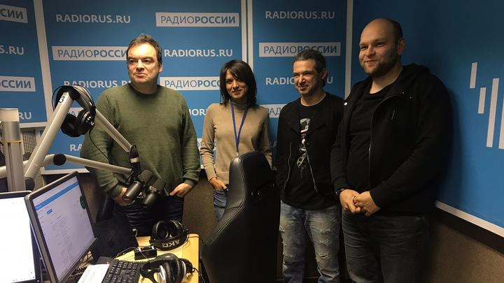 """Борис Рывкин в студии """"Радио России"""""""
