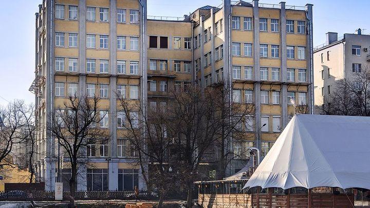 здание Кожсиндиката на Чистых прудах / Ludvig14 / CC BY-SA 4.0