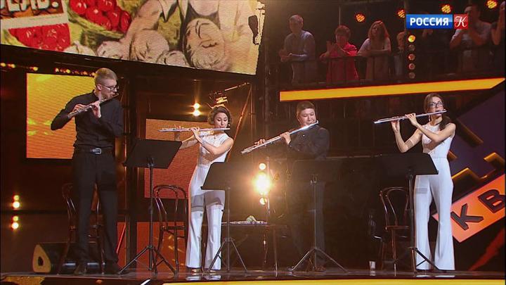 """Второй полуфинал - в новом выпуске музыкального проекта """"Квартет 4х4"""""""