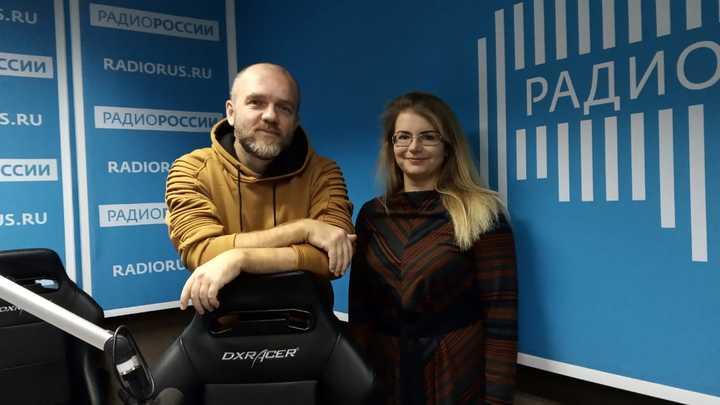 Дмитрий Конаныхин и Надежда Шахворостова в студии