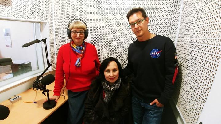 Людмила Осипова, Ирина Долженко, Алексей Франдетти. Фото Натальи Замираловой